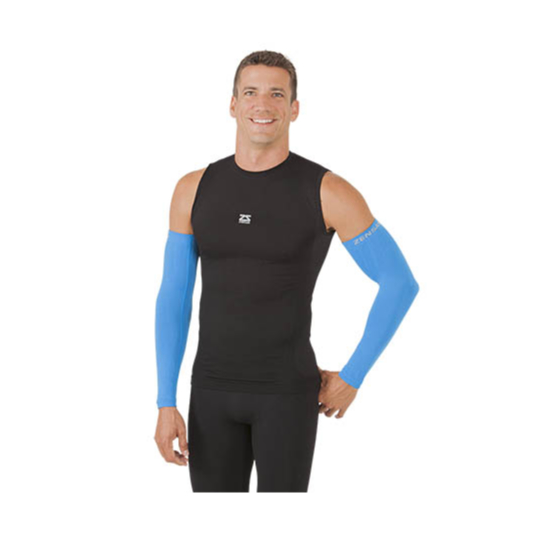 Compression Arm Sleeves - Blue