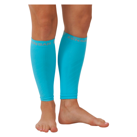Compression Leg Sleeves - Aqua