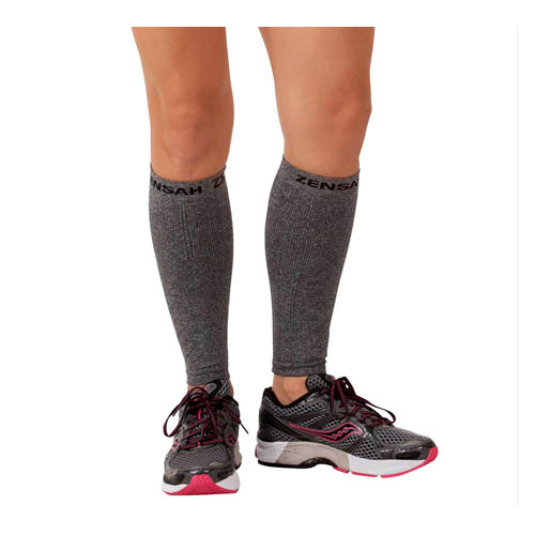 Compression Leg Sleeves - Heather Grey