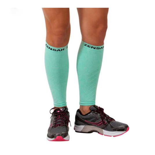 Compression Leg Sleeves - Heather Mint