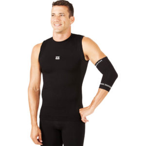 Compression Elbow Sleeve - Svartar