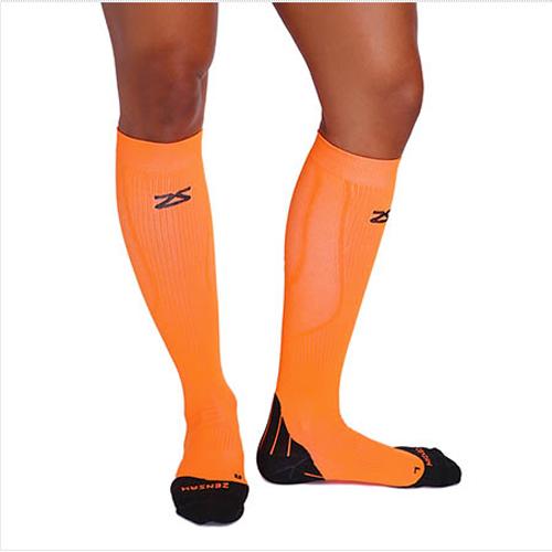 Tech+ Compression Socks - Appelsínugulir