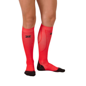 Tech+ Compression Socks - Rauðir