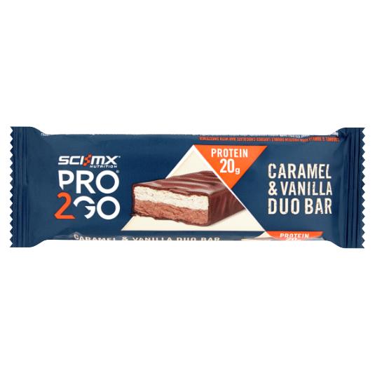 Duo Bar Caramel Vanilla